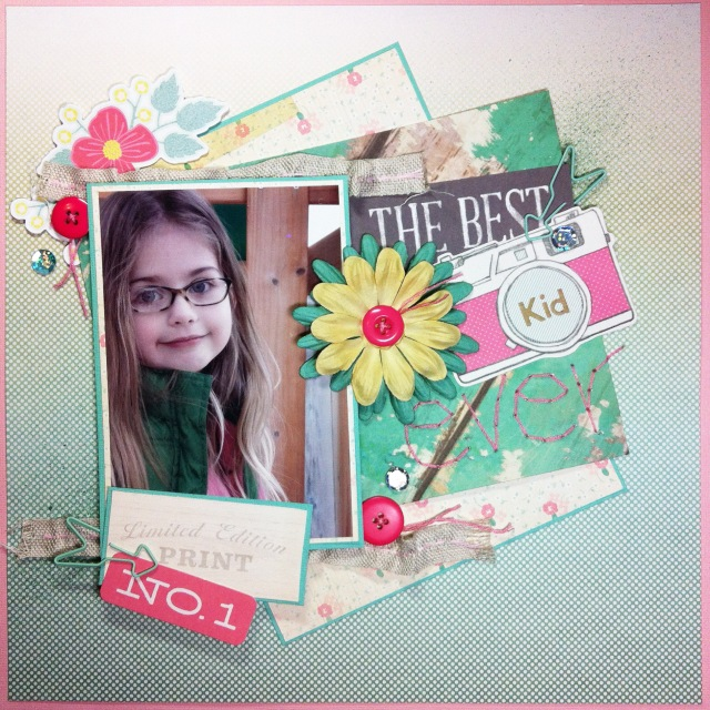 The Best Kid Ever: Using the Citrus Twist October Kit, Celebrate